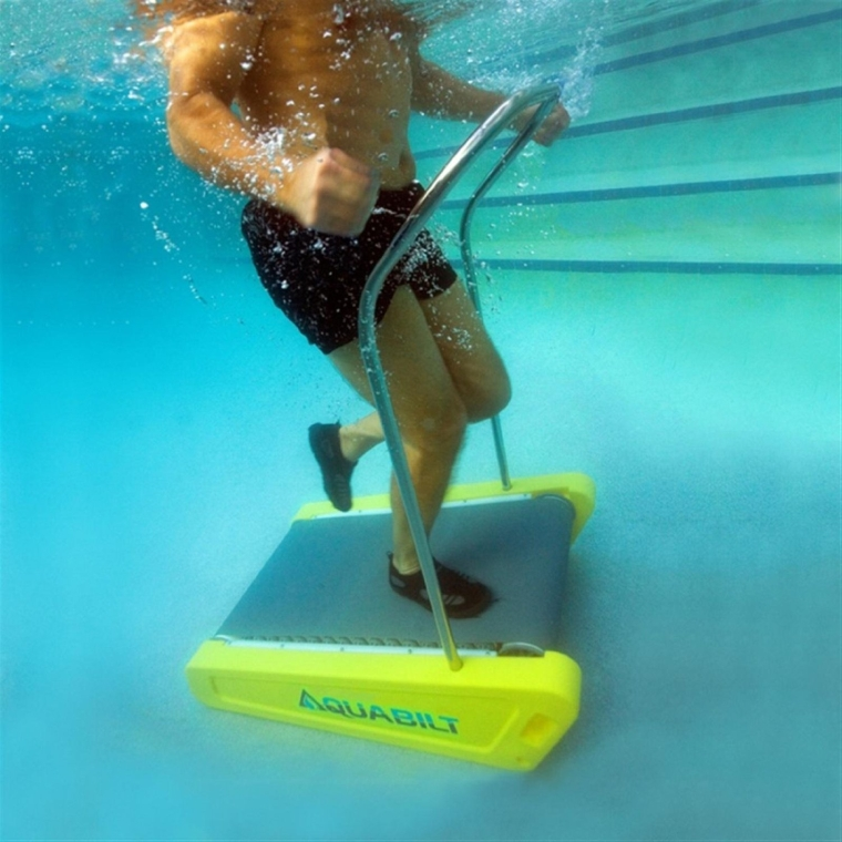 Excercise Swimming Pool Treadmill w Removable Handrail