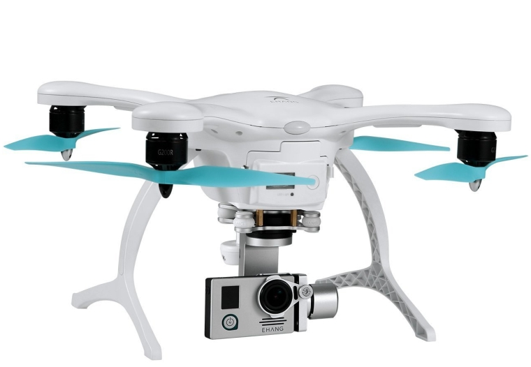 GHOSTDRONE 2.0 Aerial with 4K Sports Camera, iOSAndroid Compatible