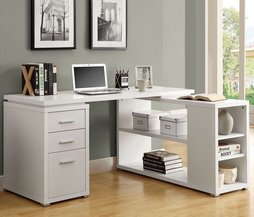 Hollow-Core Left or Right Facing Corner Desk