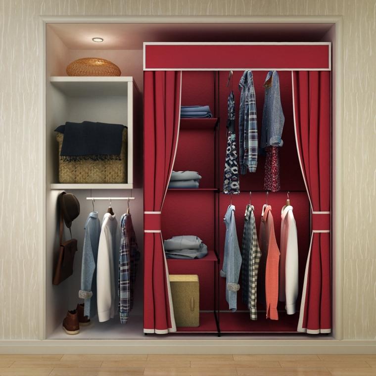 Portable Clothes Closet Wardrobe Storage Organizer