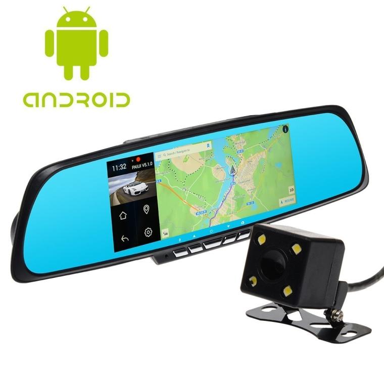 Toguard 7 Car Smart Mirror Dash Cam