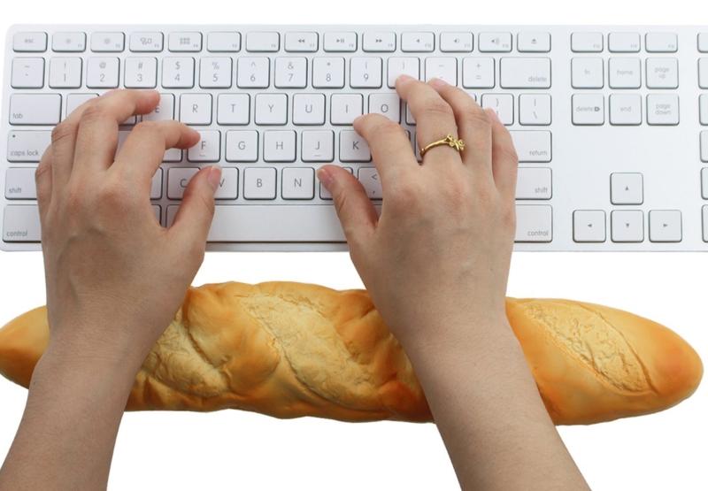 Bread Shape High Quality Soft Keyboard Pad Wrist Pad