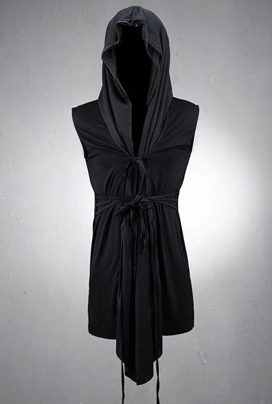 byther-mens-mesh-layerd-string-detail-dark-gothic-sleeveless-hooded-cardigan1