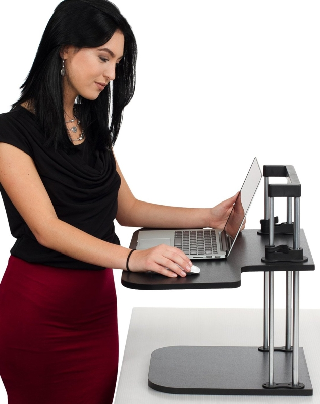 Executive Office Solutions Affordable Standing Desk-Height Adjustable Ergonomic