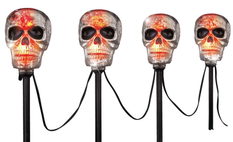 lighted-halloween-yard-stakes