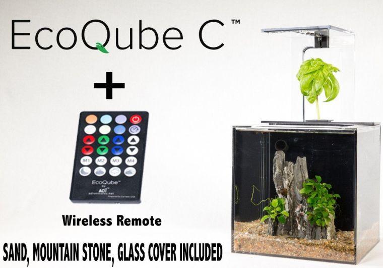 ecoqube-aquarium-desktop-aquarium-kit
