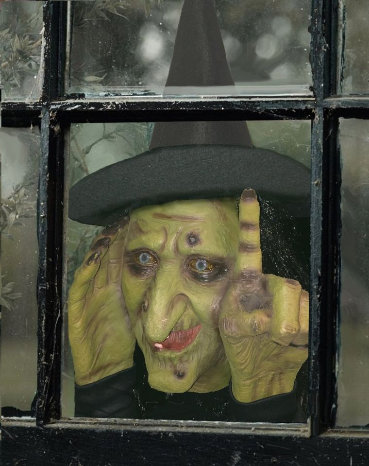 halloween-decoration-tapping-witch-scary-peeper
