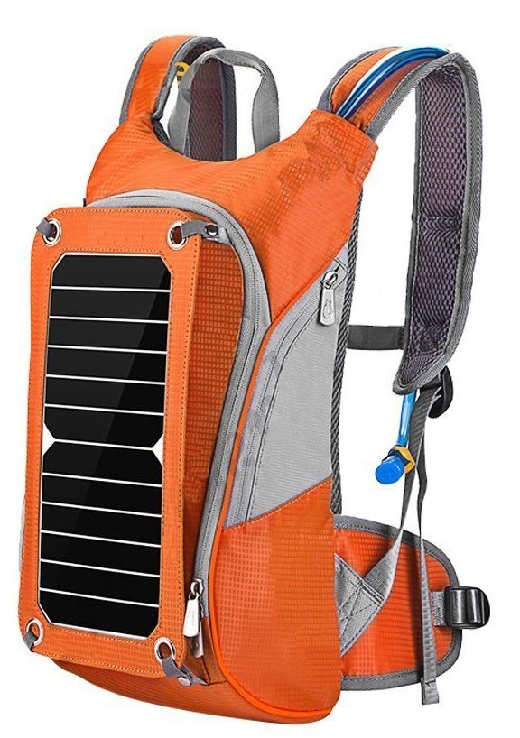 outdoor-portable-solar-backpack-with-4000mah-sunpower-and-6v7w-soalr-panel
