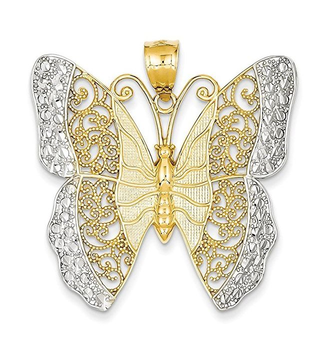 14k-rhodium-solid-polished-diamond-cut-filigree-butterfly-pendant