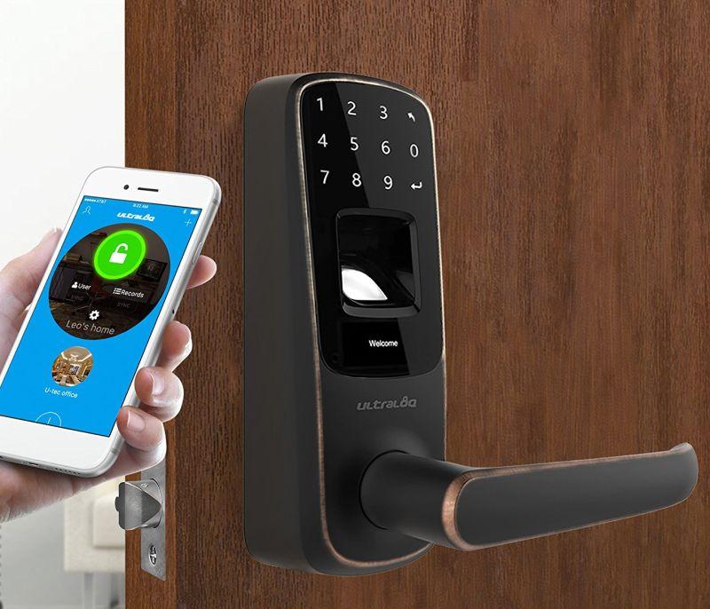 bluetooth-enabled-fingerprint-and-touchscreen-smart-lock
