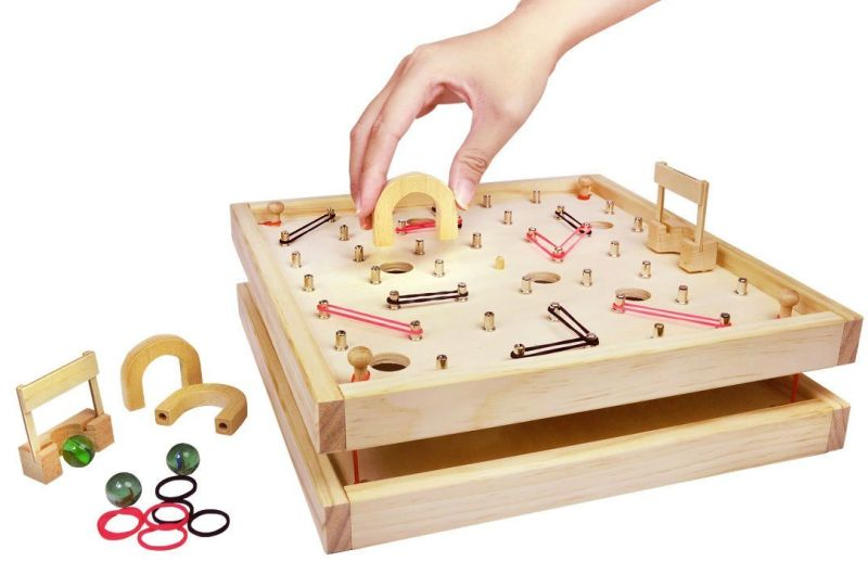 labyrinth-retro-maze-game-with-diy-adjustable-difficulty-levels