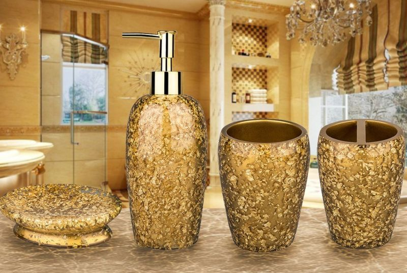 luxury-royal-resin-broken-goldleaf-bathroom-accessory-set