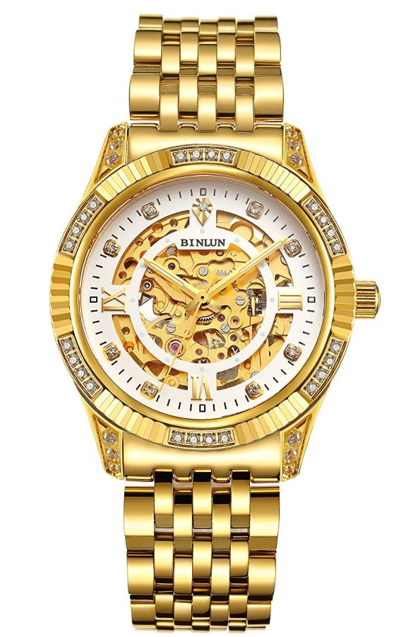 mens-luxury-18k-gold-tone-stainless-steel-skeleton-automatic-turbillon-watch