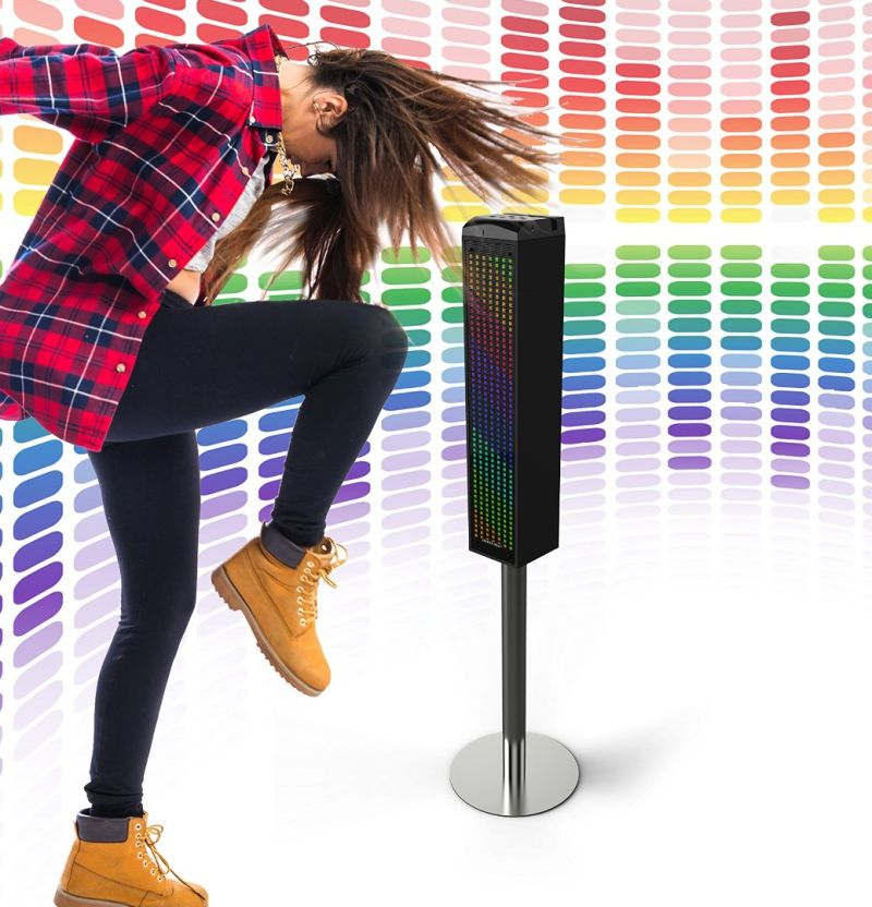 sound-responsive-bluetooth-tower-speaker-with-animated-led-lights