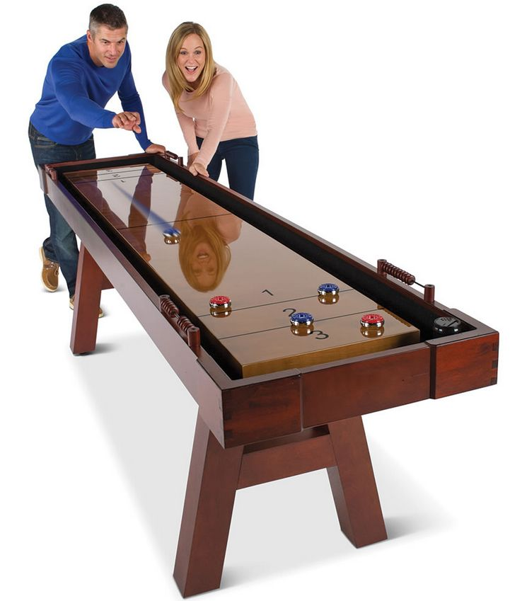 the-9-foot-wooden-shuffleboard-table