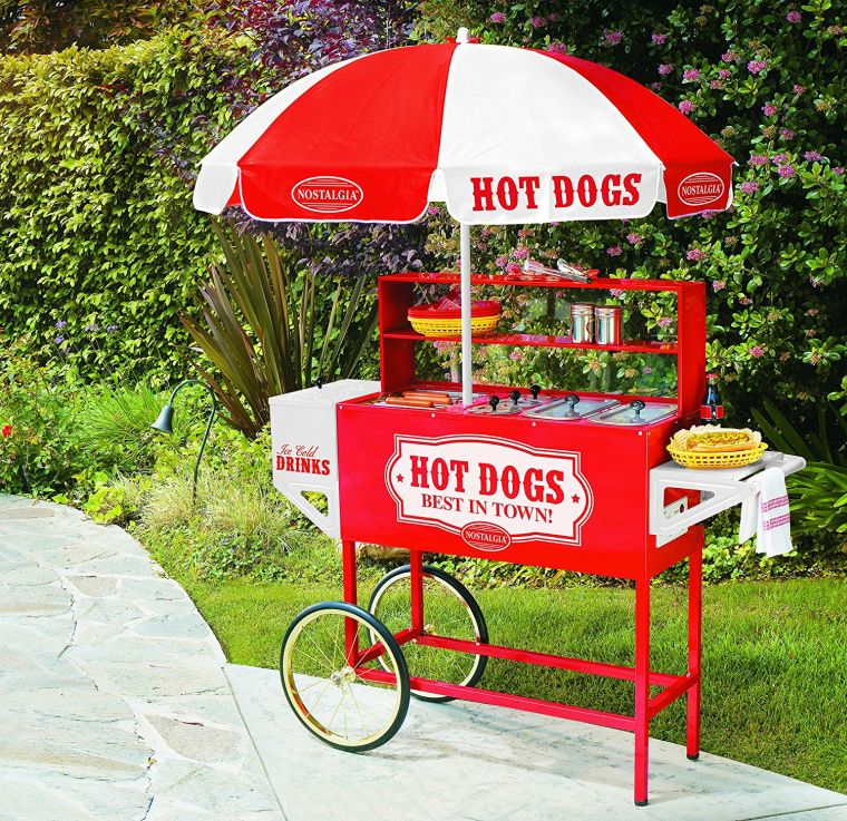 vintage-collection-hot-dog-vending-cart-with-umbrella
