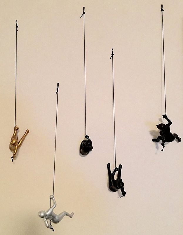 climbing-man-choco-silver-and-gold-color-set