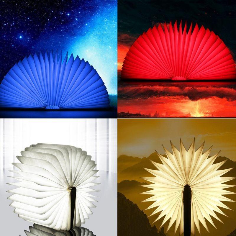 excelvan-wooden-folding-usb-rechargeable-book-light