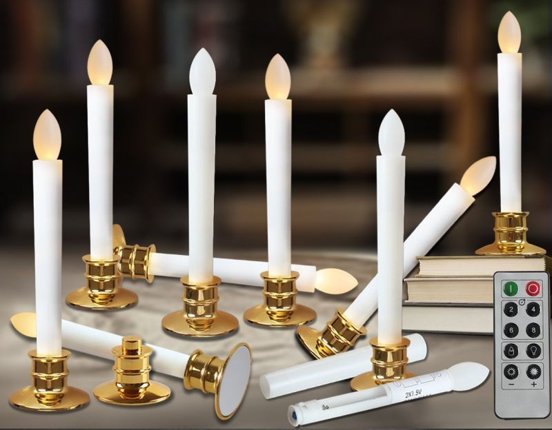 flameless-taper-candles-led-christmas-timer-candles-flickering-aaa-battery-operated-remote