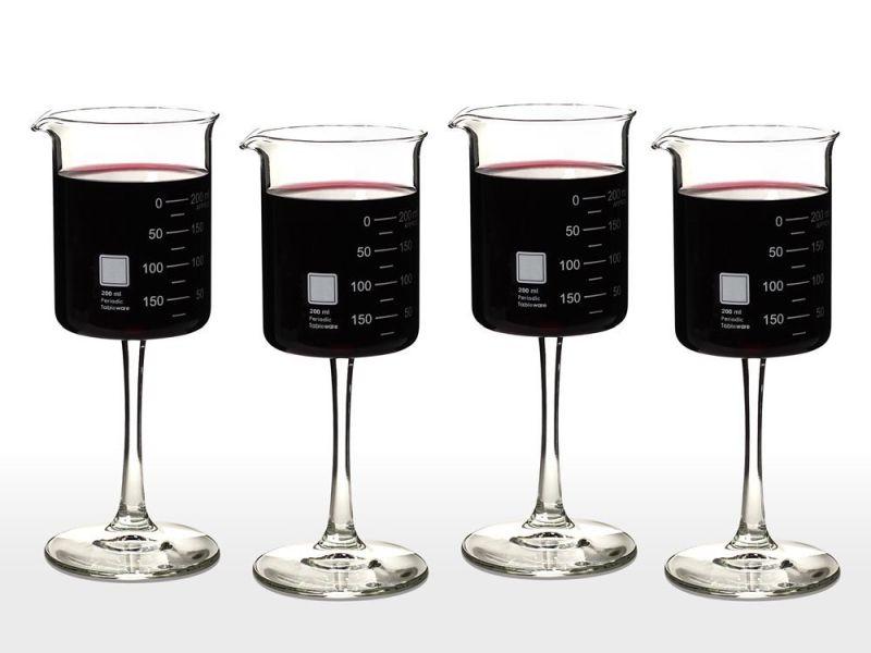 periodic-tableware-laboratory-beaker-wine-glasses
