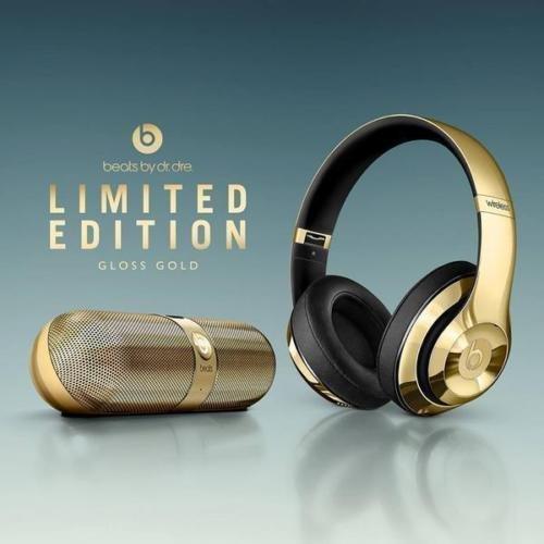 portable-speaker-and-beats-studio-wireless-headphones-gold