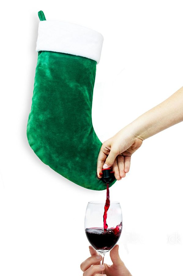 stocking-wine-flask-dispenser-christmas-holiday-gift