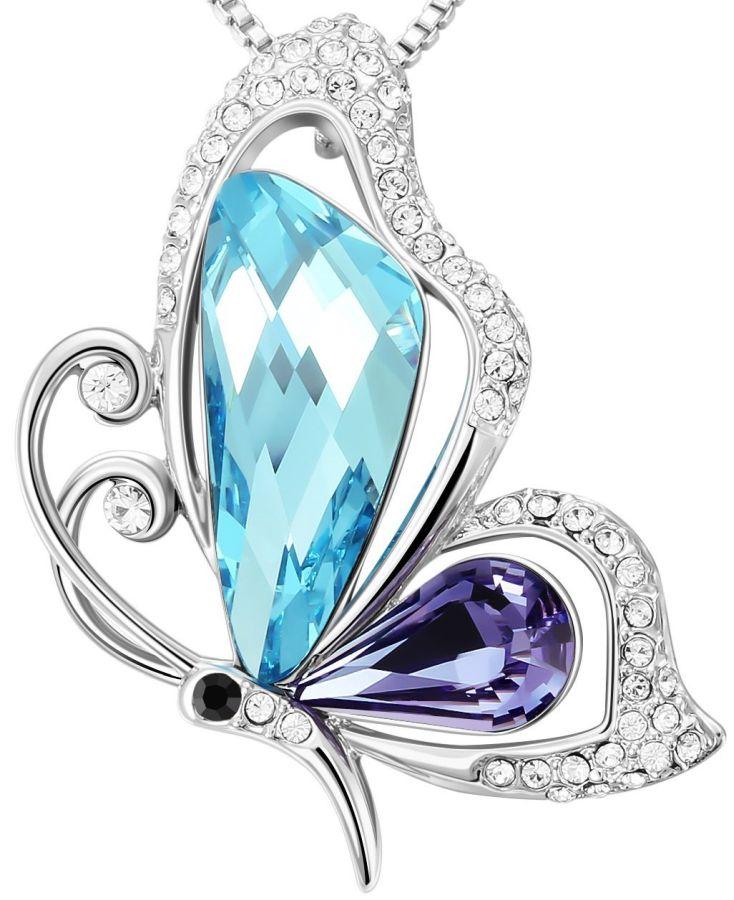 sues-secret-dream-catcher-blue-butterfly-fashion-jewelry-pendant-necklace