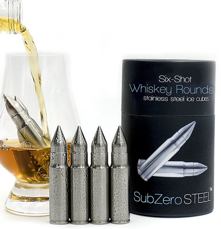 whiskey-rounds-solid-stainless-steel-bullet-shaped-whiskey-stones
