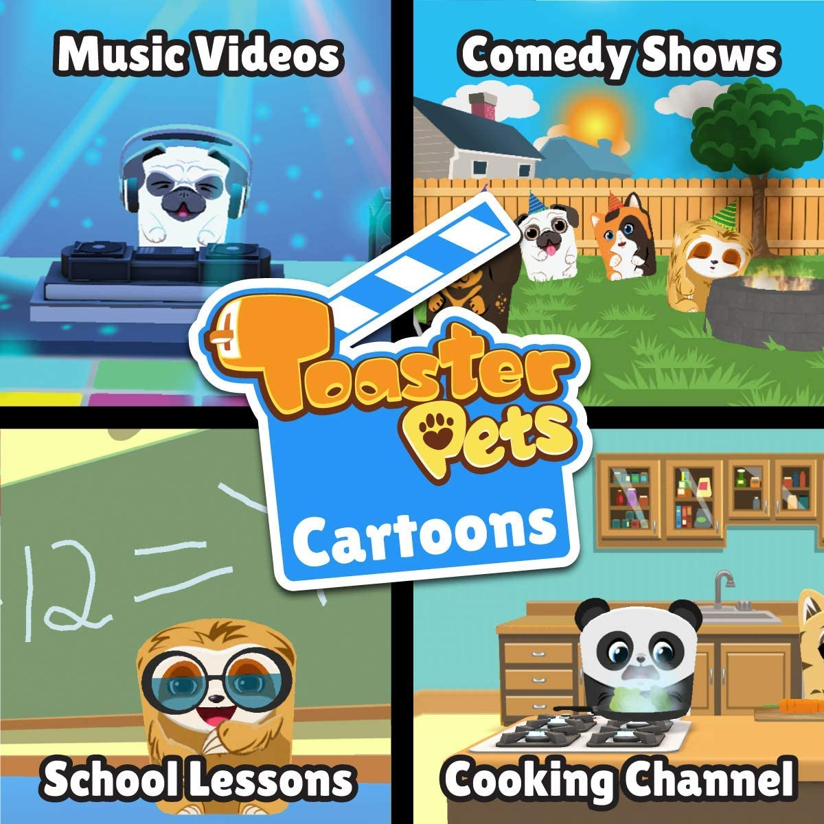 Toaster Pets Cartoons Studio kit