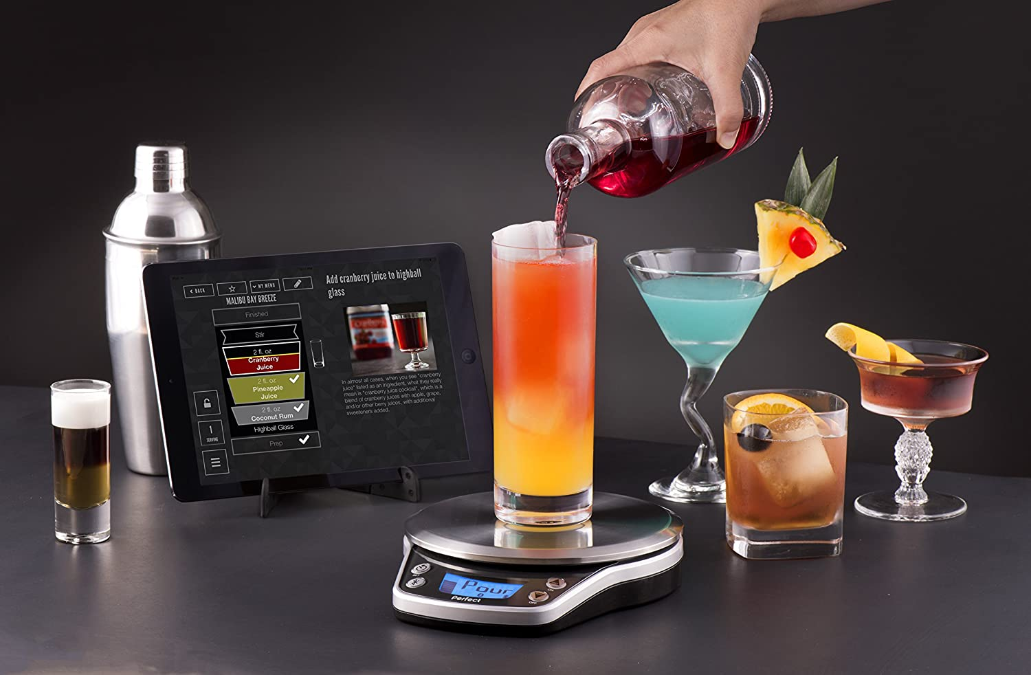 Perfect Drink Pro Smart Scale receipts