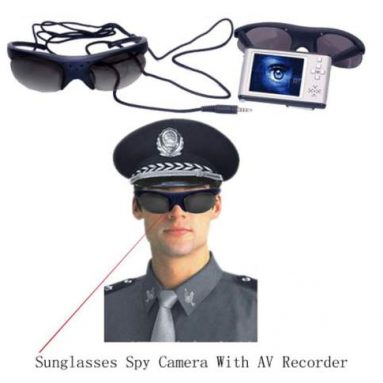 Sunglasses Spy Camera