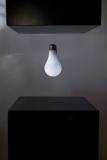 Light bulb levitating