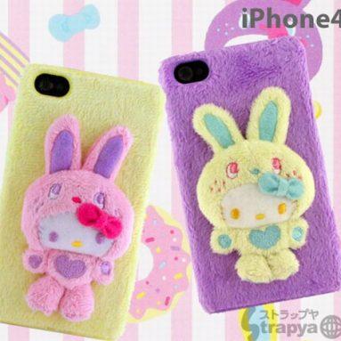 Hello Kitty Bunny Fluffy iPhone 4