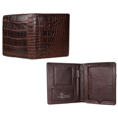 Luxury Alligator Leather Cover Case for iPad 2