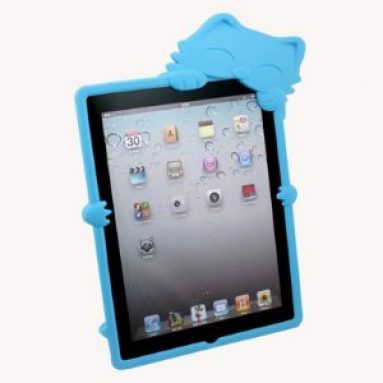 Cat Silicone Case Skin Cover For Apple iPad 3rd Generation