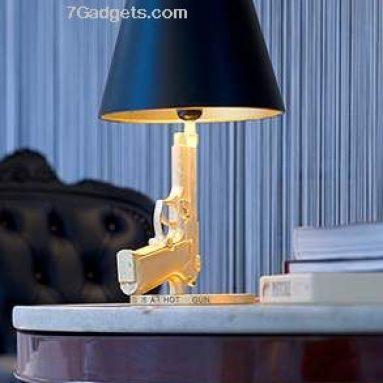 Table gun lamp