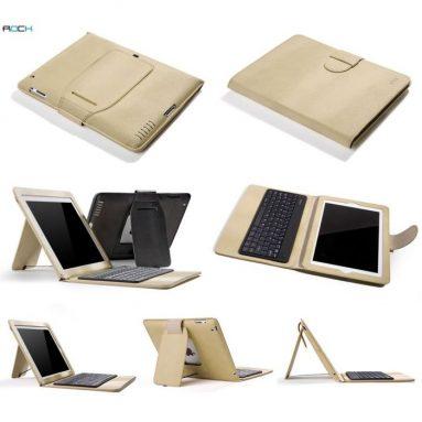 Rock Ipad 2 / Ipad 3 / New Ipad Supper Thin Bluetooth Keyboard