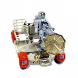 Lunar Roving Vehicle with Astronaut