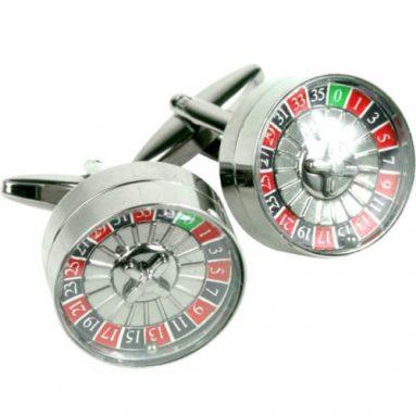 Roulette Wheel Cuff Links