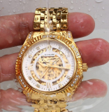 18K Gold Plated Automatic Wrist Watches