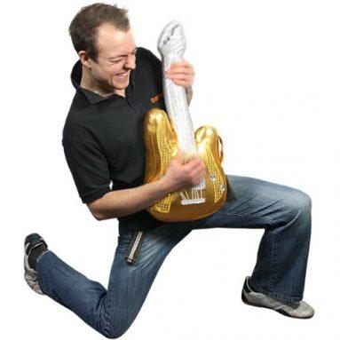 Glitzy Musical Guitar
