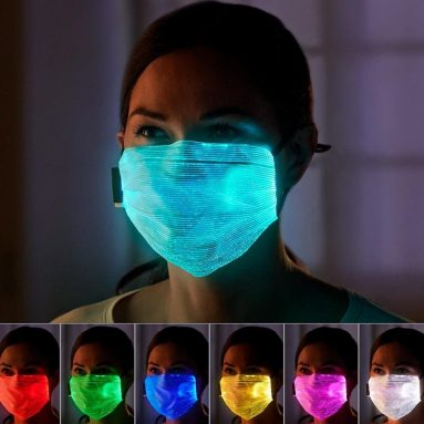 The Lightshow Face Mask