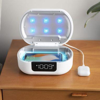 The UV-C Sanitizing Alarm Clock