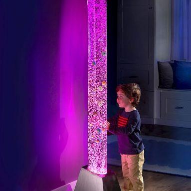 The Light Show Bubble Aquarium