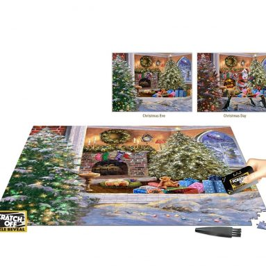 The Eve Before Christmas Scratch-Off Puzzle