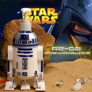 R2-D2 Shampoo Bottle Figure