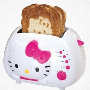 Hello Kitty 2-Slice Wide Slot Toaster