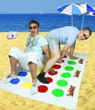 Twister Beach Towel
