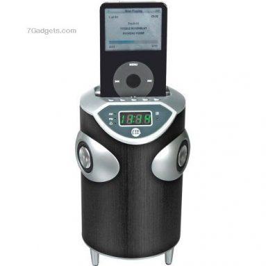 Cta Digital Sound Alarm Clock Ipod Speaker