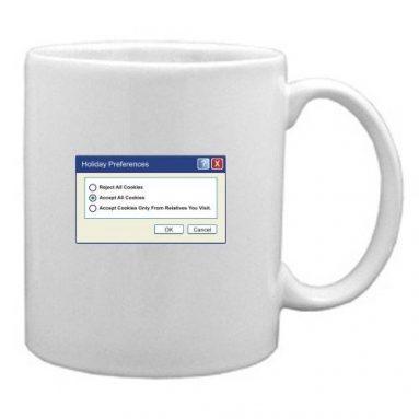 White Mug options